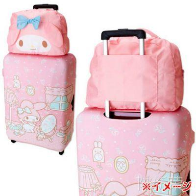 日单美乐迪轻便折叠旅行包 凯蒂猫可折叠收纳包手提包 卡通行李袋