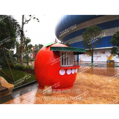 广州杜谦玻璃钢售货亭/食品售卖亭定制