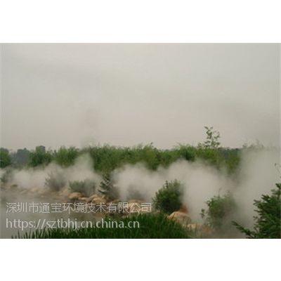 别墅小区人工造雾系统-雾森设备