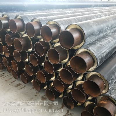 榆林鼎固89*4玻璃钢直埋保温管出厂价