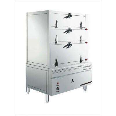 单门电热蒸饭柜公司-鲲鹏厨房设备-单门电热蒸饭柜