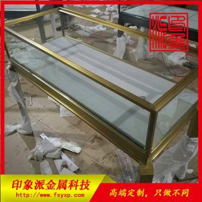 拉丝钛金不锈钢柜子定制
