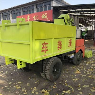 供应牛粪清理机厂家 销售柴油动力牛粪清理机 润丰机械