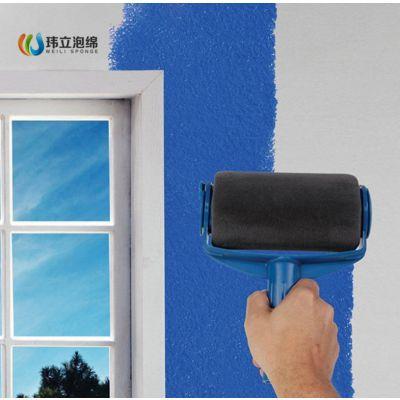 油漆工具刷,多功能滚筒油漆刷 美式滚筒刷 无缝海绵刷