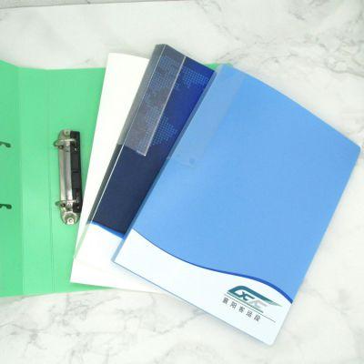 两孔PP文件夹 双强力资料夹 试卷整理夹 打孔夹 长押活页夹