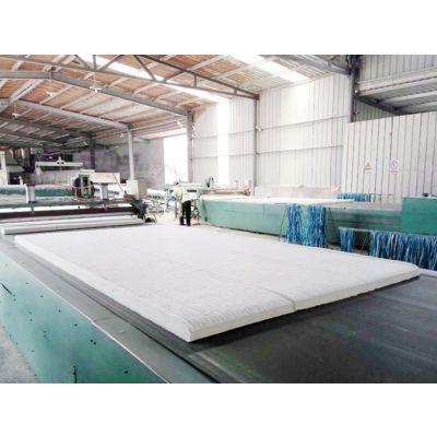 屋顶保温硅酸铝甩丝毯5个厚厂家定做价格