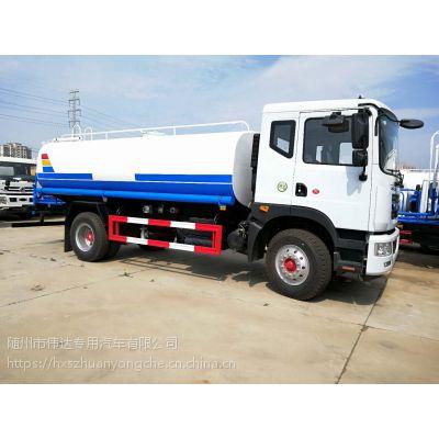 东风D9多利卡12吨15吨HCQ5161GSSE5型环卫绿化喷洒车
