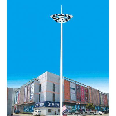 四川升降式高杆灯厂家,25m高杆灯,15m中杆灯制作厂家