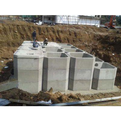 泰安市污水处理混凝土预制化粪池厂家耐腐蚀组合式化粪池