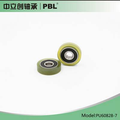 聚氨酯包胶轴承PU608-28-7 PU608-30-11 PU608-35-15