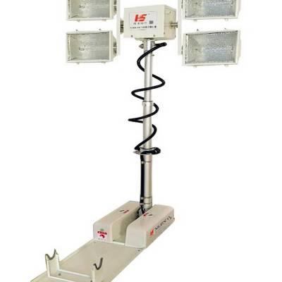 移动照明系统 折叠式高杆升降灯 车载移动照明系统