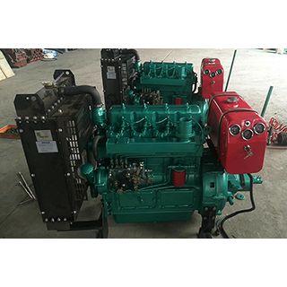 邵阳潍柴ZH4102P四缸柴油机 配潍柴44千瓦粉碎机收割机专用发动机