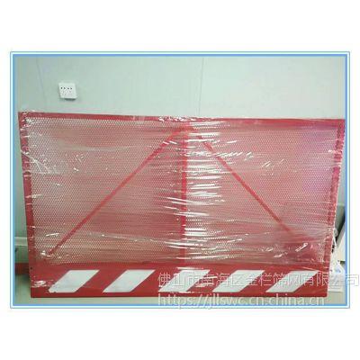 深圳桌椅金属板圆孔洞洞板护栏冲孔网围挡道路安全隔离栏