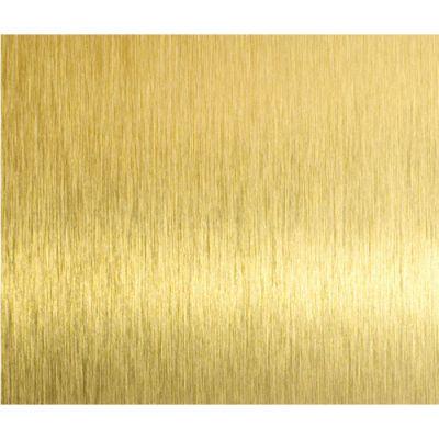 佛山高比304钛金拉丝板生产厂家_不锈钢拉丝钛金板价格_拉丝黄钛金无指纹不锈钢