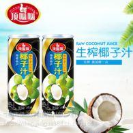 超市便利店零售罐装生榨椰子汁饮料245ml批发