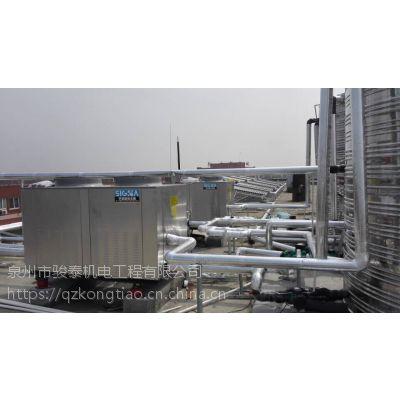 泉州中央空调冷却循环水系统的清洗和预膜