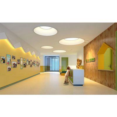 合肥幼儿园装修早教机构装修如何设计寓教于乐的互动式