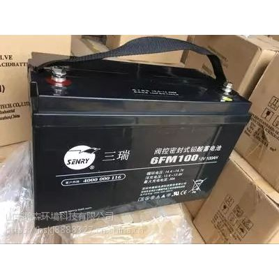 三瑞蓄电池12V90AH蓄电池现货直销价格