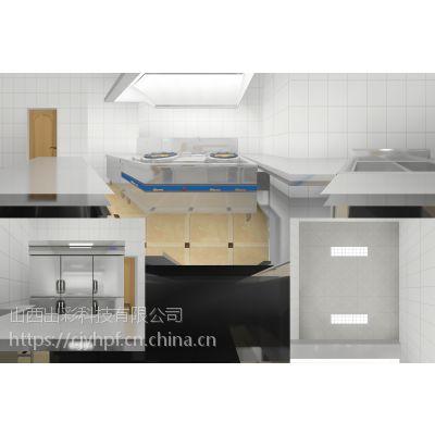 山西学校食堂商用厨房设备,山西食堂厨房设备,厨具营行