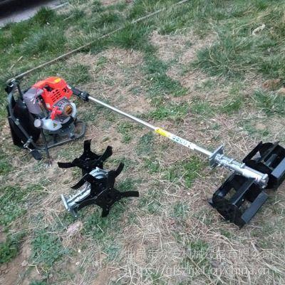 供应丘陵使用割草机 背负式多功能锄地机 两冲程锄地机