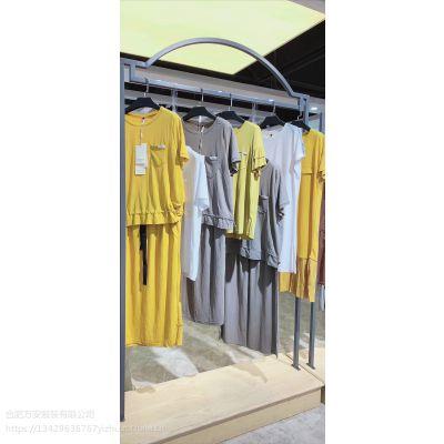 时光沙漏夏装 品牌折扣女装批发 杭州一线品牌尾货 库存女装批发