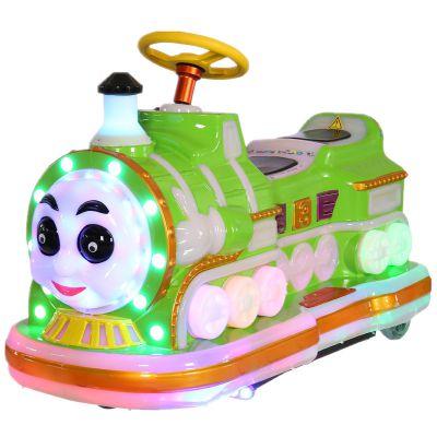 河北火车侠电瓶碰碰车2019新款双人火车头电动游乐设备玩具车价格
