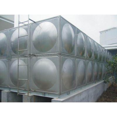 玻璃钢水箱 不锈钢水箱 混合水箱重量轻