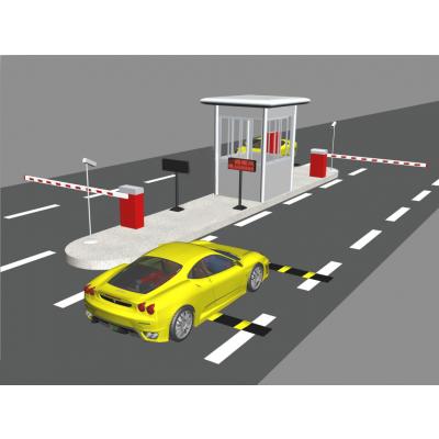 自动停车场系统 车辆识别智能摆闸 车牌自动识别