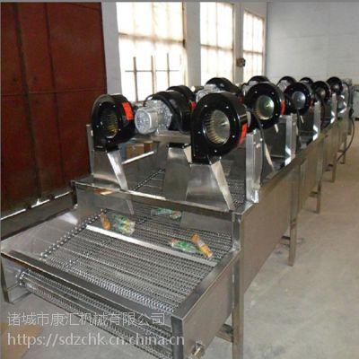 厂家生产食品翻转式风干流水线 蔬菜水果清洗吹干设备 康汇牌