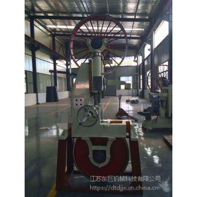 南通供应原木带锯开料机 唐洋小型自动带锯条押料机稳定性好(图)