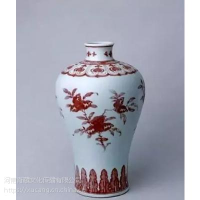 清代的釉里红有什么特点?
