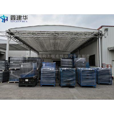 东营市利津县哪里可以做货物堆放货篷遮阳伸缩雨棚布