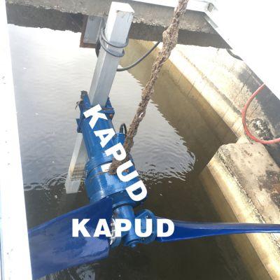 QJB5.5/4-2200-43/P 氧化沟潜水推流器安装 潜水推流搅拌器