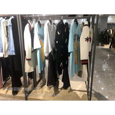 欧洲站秋金宝服装城品牌折扣女装剪标外套品牌