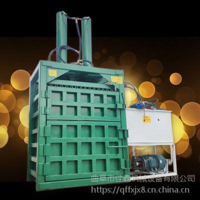佳鑫自动翻包海绵压包机 牧草秸秆液压打块机 废弃物垃圾碎料打包机厂家直销