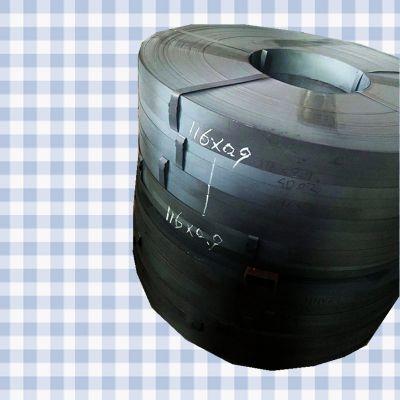 烤蓝打包带 冷轧铁皮打包带 现货供应0.6*19mm 优质钢带