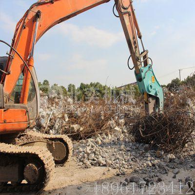 北奕机械 液压粉碎钳厂家,液压剪拆房子,混凝土粉碎机