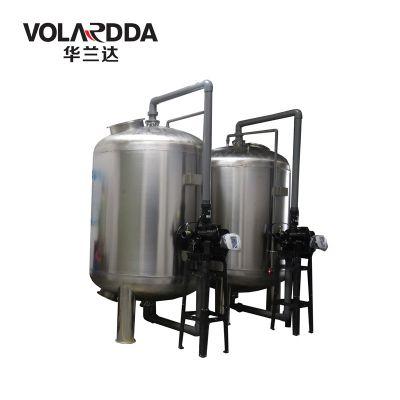 广东厂家直销304不锈钢酿酒水预处理石英砂过滤器就在晨兴环保