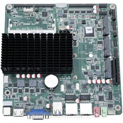 铭微3865U双千兆网口可网络唤醒DDR3PCIE无线模块6COM嵌入式工业主板