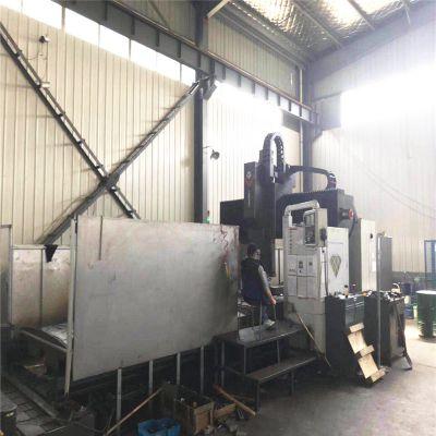 订购江苏二手CNC数控龙门加工中心机床 主轴上银丝杠