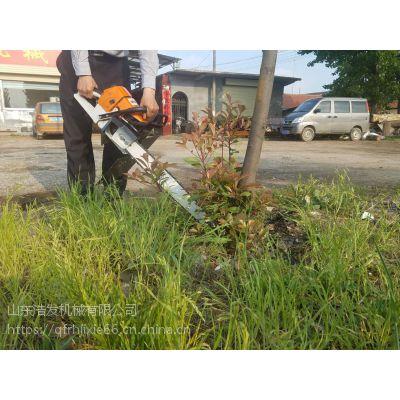 切割土球树木起苗机 树贩挖树机