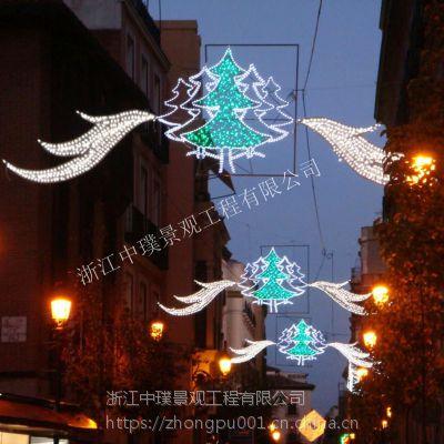 圣诞节日灯光亮化市政道路街道亮化布置商业街灯光亮化装饰