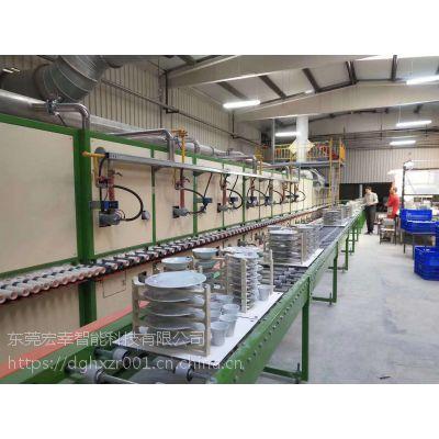 燃气式烤花炉生产线 玻璃陶瓷制品加热烤花设备