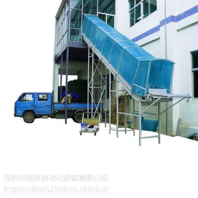 二楼出货滑梯流水线物流滑道