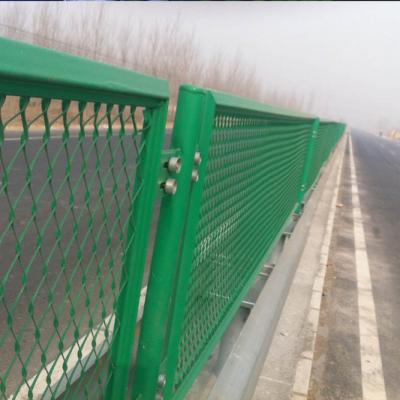 增城高架桥防落物网 东莞公路桥梁防护网 钢板网厂家定做