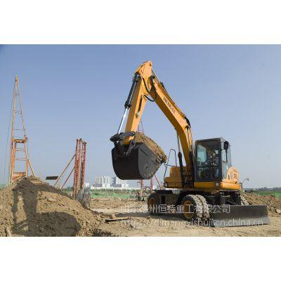 轮挖——挖掘机轮式HT135W