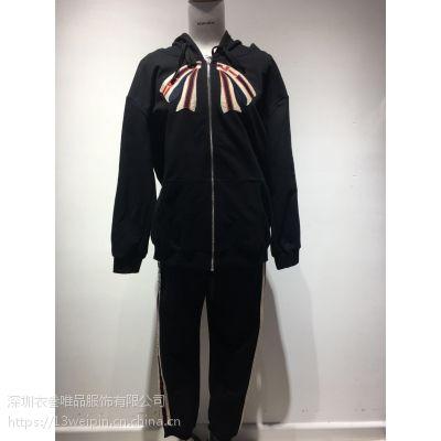 休闲时尚另类女装品牌亮点国际春季新款衣叁唯品走份正品货源