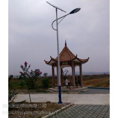 长沙新农村专用LED太阳能路灯配置/新农村路灯改造
