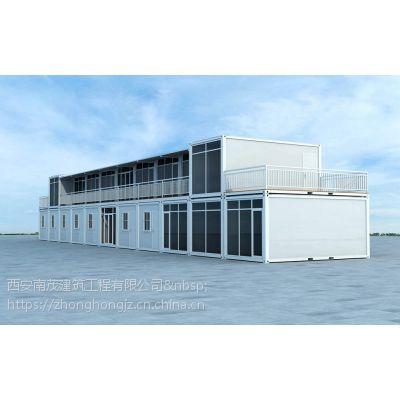 西安活动房 彩钢板住人集装箱 项目部高端打包箱 集装箱异型改造 厂有直供