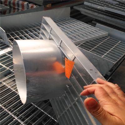 异形钢格板/专业制作乱尺平台钢格板/防滑镀锌格栅板直销-河北泰江